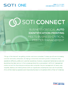 SOTI Connect Brochure for TSC Printronix Auto ID
